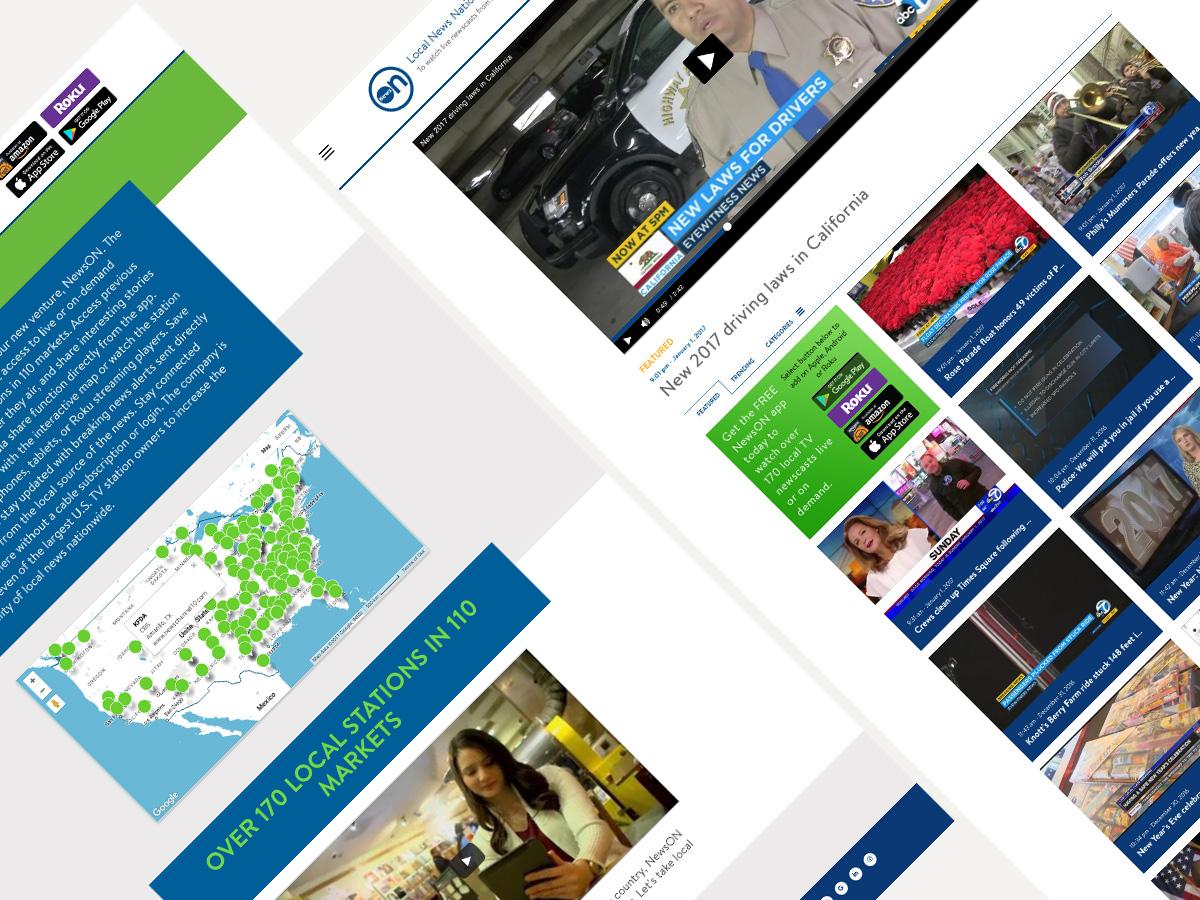 NewsON layouts